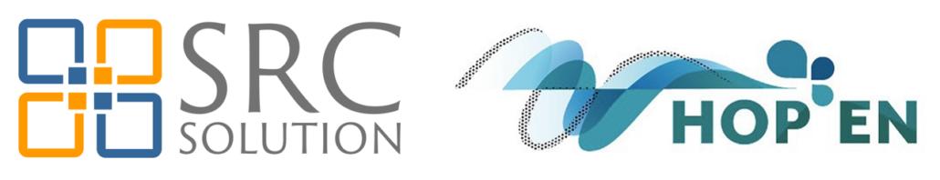 Logos SRC Solution HOP'EN